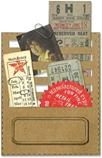 Sizzix, Multi Color, Thinlits Die Set 662697, Stitched Slots by Tim Holtz, 2 Pack, One Size