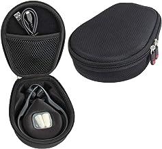 Hermitshell Hard Case fits AfterShokz Trekz Air/AfterShokz Aeropex/Titanium Mini Open Ear Wireless Bone Conduction Headphones AS650 (Black)