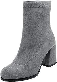 BalaMasa Womens ABS14055 Pu Boots