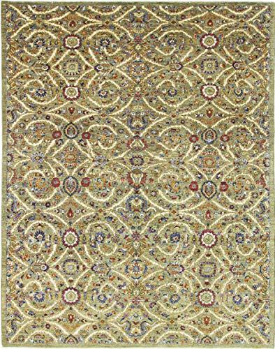 Nain Trading Arijana Klassik 310x244 Orientteppich Teppich Beige Handgeknüpft Pakistan