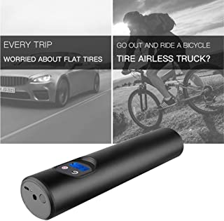 Katurn Auto Luftpumpe   12V Elektrisch Digital Kompressor 150PSI mit Digital Screen LED für SUVs Motorrad und Fahrrad