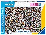 Ravensburger Puzzle, Puzzles 1000 Piezas, Challenge Mickey Mouse, Colección Challenge, Impossible Rompecabezas Ravensburger, Jigsaw Puzzle