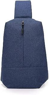 Mens Bag Casual Canvas Shoulder Sling Bag Rucksack Men's Chest Pack Crossbody Bag High capacity
