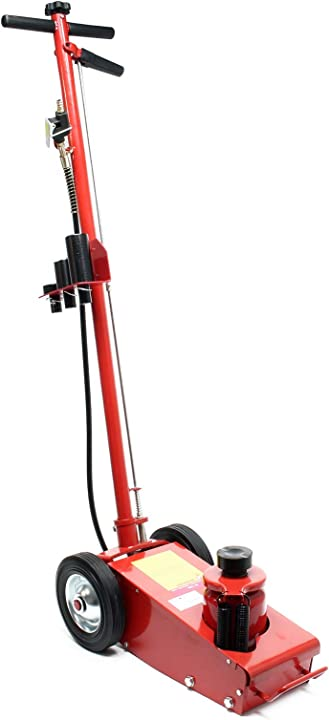 Sollevatore a carrello macchinari pesanti veicoli 22 t  cric pneumatico martinetto wiltec 61336