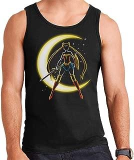 Sailor Moon Wonder Woman Mix Men's Vest