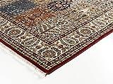 CASPIAN GHOM echter klassischer Orient Felderteppich handgeknüpft in rot-beige, Größe: 170x240 cm - 2