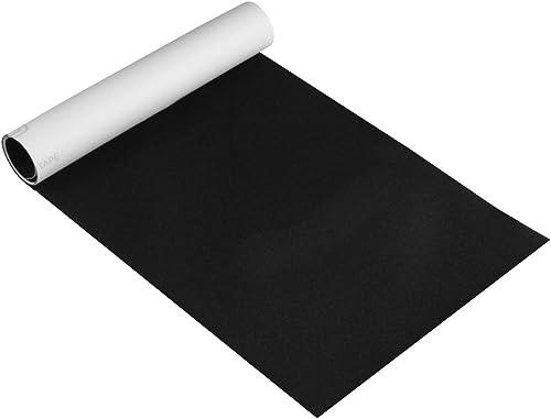 lowest Larcele outlet sale Skateboard Sandpaper Sticker Adhesive Scooter Anti Slip Sand Paper Longboard Stickers online sale Bubble Free Black HBSZ-01 online sale