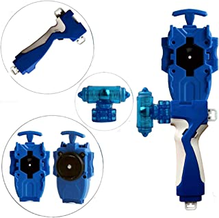 StormGyro Battling Battle String Launcher and Launcher Grip with Weight Damper Set(Blue)