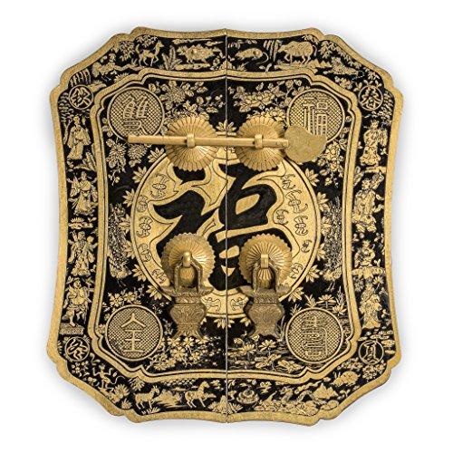 aparador asiatico de la marca Chinese Brass Hardware