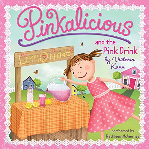 Pinkalicious and the Pink Drink audiobook cover art