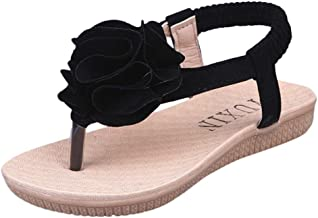 Little Girls Sandals,Hemlock Childrens Kids Girls Flower Flats Shoes Summer Outdoors Beach Sandals