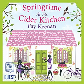 Springtime at the Cider Kitchen     Little Somerby, Book 2              Written by:                                                                                                                                 Fay Keenan                               Narrated by:                                                                                                                                 Julia Franklin                      Length: 10 hrs and 55 mins     Not rated yet     Overall 0.0