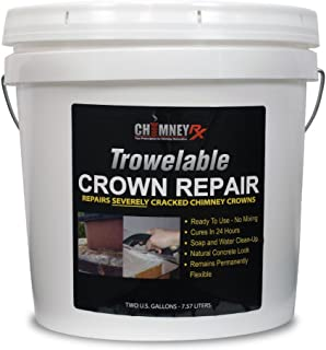 chimney crown repair cement