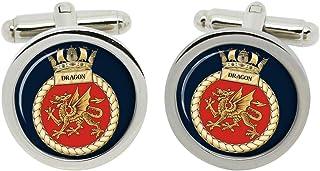 Gift Shop HMS Dragon, Real Azul Marino Gemelos en Caja