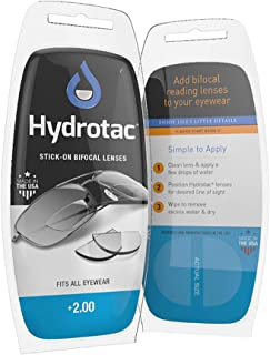 OPTX 20/20 Hydrotac Stick-on Bifocal Reading Glasses