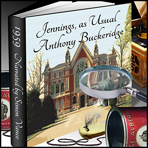 Jennings, as Usual  audiobook cover art