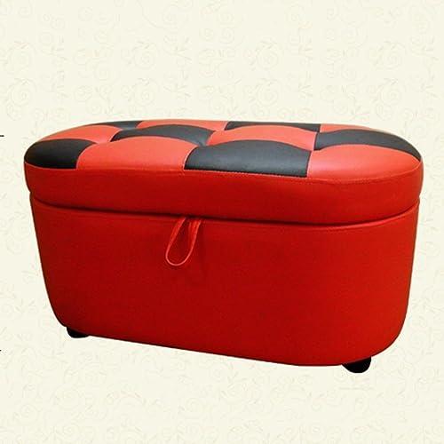 grandes precios de descuento MOMO Moda para para para el Taburete del Zapato Taburete de Zapato de Prueba Doble Creativo Almacenamiento de la Tienda del Taburete del Taburete del sofá del sofá (rojo) (83  43  40Cm) -Storage Stool  almacén al por mayor