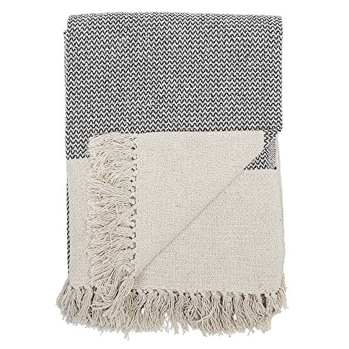 Bloomingville - Decke, Kuscheldecke, Throw - Grey/Grau - 160 x 130 cm