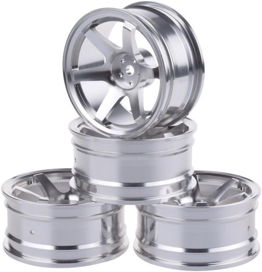 LAFEINA 4PCS Aluminium Alloy RC Wheel Hub for 10 On- Rims Max 61% List price OFF 1 52mm
