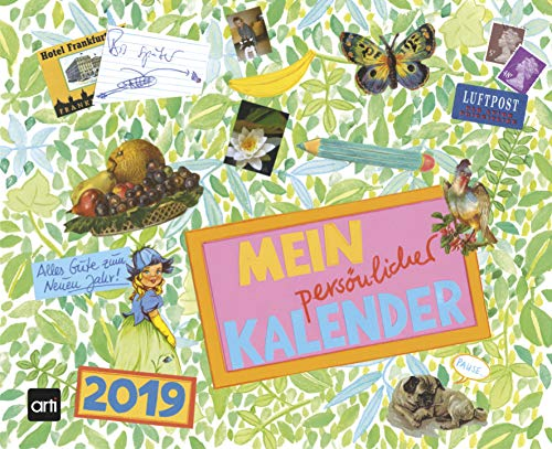 Gabi Kohwagner Mein persönlicher Kalender2019: Broschürenkalender teNeues