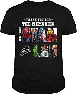 Thank You for The Memories Stan Lee T Shirt, Stan Lee Marvel T Shirt
