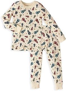 0efd895140 Skylar Luna Boys Long Sleeve Pajama Set - 100% Soft Organic Turkish Cotton