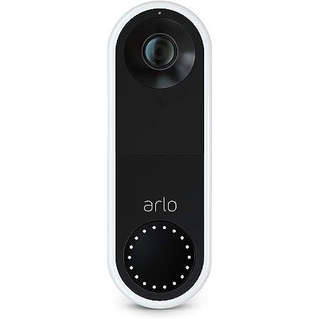 Arlo Video Doorbell 1080p Hd Video 25 Größeres Sichtfeld Paketerkennung Bewegungsmelder 2 Wege Audio Smart Sirene Nachtsicht Türklingel Verkabelung Erforderlich Avd1001 Baumarkt