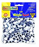 Creativity Street Wiggle Eyes Classpack, Black 10mm (Pack of 500)