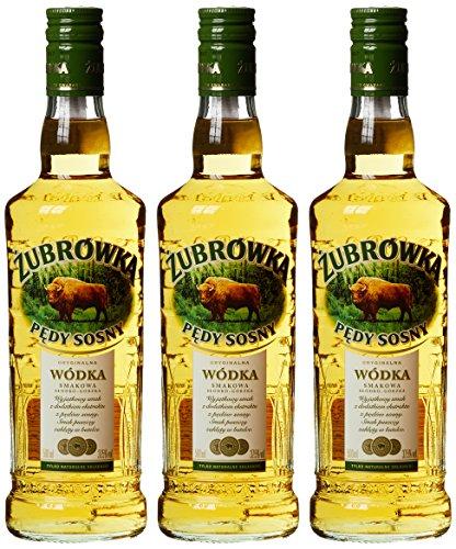 Zubrowka Kiefersprossen/Pedy Sosny Wodka (3 x 0.5 l)