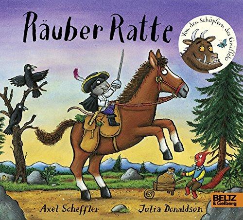 Räuber Ratte: Vierfarbiges Pappbilderbuch