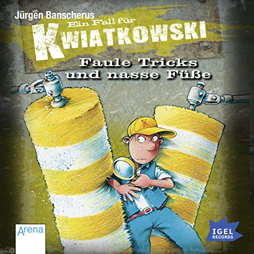 Faule Tricks und nasse Füße audiobook cover art