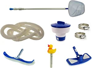 Swim N Play Deluxe Pool Cleaning Maintenance Kit for Above Ground Swimming Pool