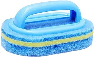 Reinigingsspons met handvat, 3 stuks Veelzijdig keukenreiniging, duurzaam Snelle reinigingsborstel for keuken, badkamer, b...