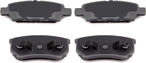 Ceramic Discs Brake Pads,SCITOO 4pcs Rear Brake Pads Brakes Kits fit for 11-14 Chrysler 200, 07-10 Chrysler Sebring, 08-14 Dodge Aveng, 07-17 Jeep Compass, 07-17 Jeep Patriot, 08-14 Mitsubishi Lancer