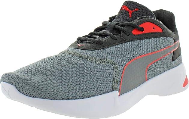 PUMA Mens Jaro Multi Running Sneakers Shoes - Black,Grey