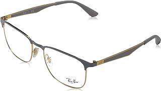 RX6363 Metal Square Prescription Eyeglass Frames