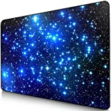 Sidorenko Tappetino per Mouse da Gioco | Gaming PC Mouse Pad | 240x200x2mm | Special Surface Improves Speed And Precision | Gomma Antiscivolo Superficie | Blu