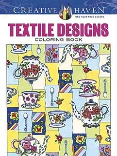 Creative Haven Textile Designs Coloring Book (Creative Haven Coloring Books)