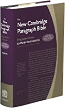 New Cambridge Paragraph Bible with Apocrypha, KJ590:TA: Personal size