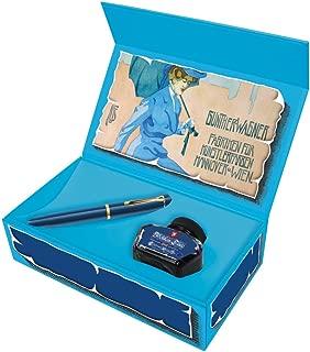 Pelikan M120 Fountain Pen - Iconic Blue Medium Point with Historical Box Set