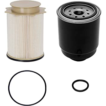 Amazon.com: 6.7L Cummins Fuel Filter Water Separator Set | for 2013-2018 Dodge  Ram 2500 3500 4500 5500 6.7L Cummins Turbo Diesel Engines | Replaces#  68197867AA, 68157291AA: AutomotiveAmazon.com