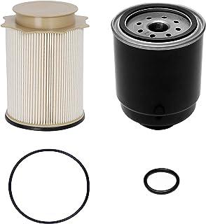 6.7L Cummins Fuel Filter Water Separator Set   for 2013-2018 Dodge Ram 2500 3500 4500 5500 6.7L Cummins Turbo Diesel Engines   Replaces# 68197867AA, 68157291AA