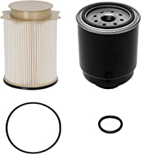 6.7L Cummins Fuel Filter Water Separator Set | for 2013-2018 Dodge Ram 2500 3500 4500 5500 6.7L Cummins Turbo Diesel Engines | Replaces# 68197867AA, 68157291AA
