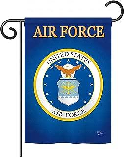 Breeze Decor G158054 Air Force Americana Military Impressions Decorative Vertical Garden Flag 13