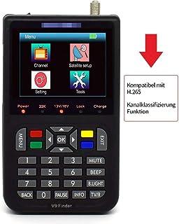 Sq Digital Satellite Finder with 3.5 Inch LCD Digital Display,Black