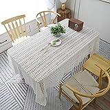 Huldoro Mori Gärten Häkeln Abdeckung Handtuch Baumwolle Tischtuch Tischdecke...
