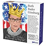 1000 Piece Puzzle, Ruth Bader Ginsburg Collectible, Notorious RBG Inspirational Quote, Women Belong in All Places Where Decisions are Being Made
