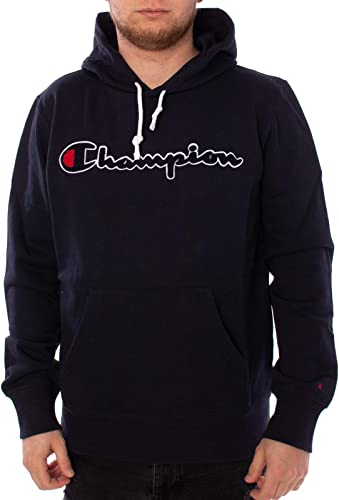 Champion Sweat-Shirt Recycle Terry, Bleu, S
