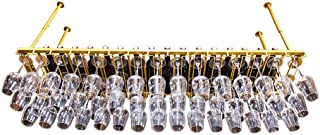 MY1MEY Botellero Botella de Vino Ajustable en Altura Soporte de Botella de Vino de Hierro montado en la Pared Soporte de V...