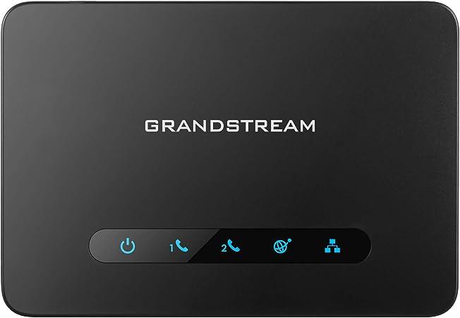 Grandstream Ht 812 2fxs Gateway Schwarz Elektronik